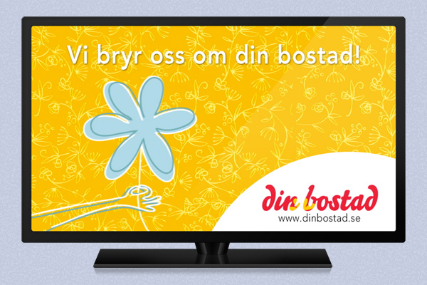 Din Bostad Animated TV Spot