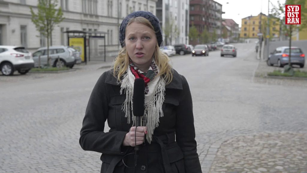 Sydöstran's Matilda Ohlsson reports from the streets of Karlskrona