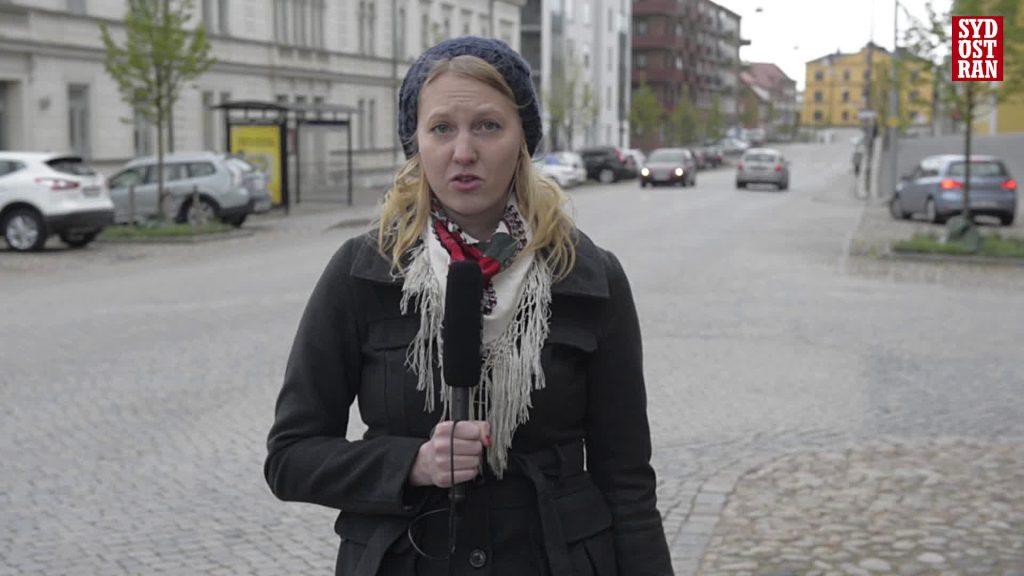 Sydöstran's Matilda Ohlsson reports from the streets of Karlskrona
