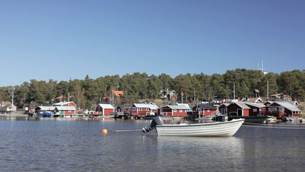 The beautiful island of Alnö