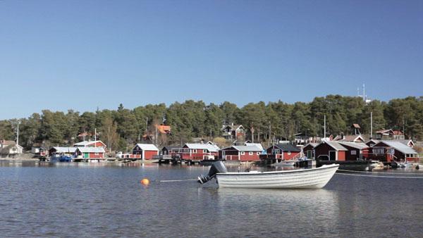 The beautiful island of Alnö